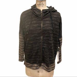 O'Neill lightweight zip up sweater jacket
